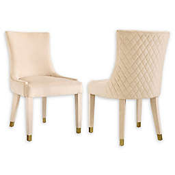 Modern Sensibility Faux Leather Upholstered Chair