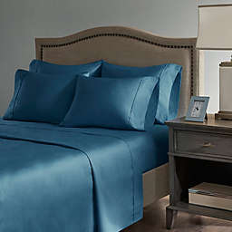 Madison Park Hotel 800-Thread-Count Cotton  Rich California King Sheet Set in Teal