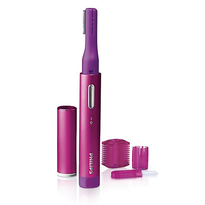 Alternate image 1 for Philips Precision Perfect Trimmer in Pink