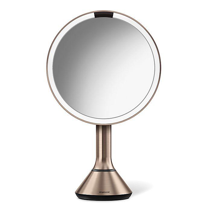 Alternate image 1 for simplehuman® 5X Sensor Brightness Control 8-Inch Mirror