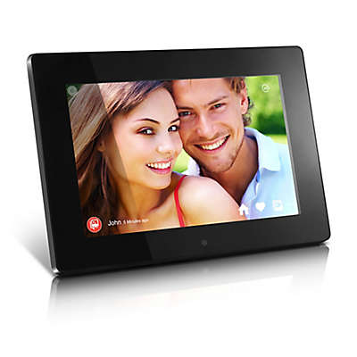Aluratek 10-Inch WiFi Digital Photo Frame in Black with Touchscreen