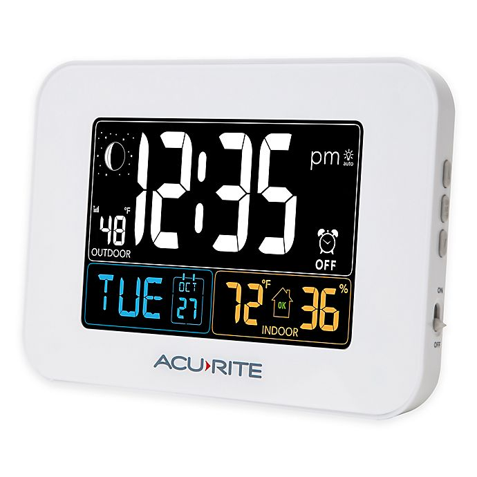 Acurite Alarm Clock With Intelli Time