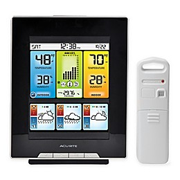 AcuRite® Digital Color Weather Station in Black