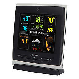 AcuRite® 3-in-1 Weather Center in Black with Color Display