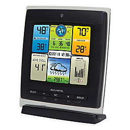 AcuRite® 3-in-1 Weather Center with Color Display in Black