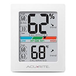 AcuRite®  Pro Accuracy Indoor Temperature & Humidity Monitor in Black