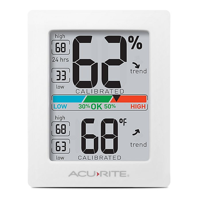 Alternate image 1 for AcuRite®  Pro Accuracy Indoor Temperature & Humidity Monitor in Black