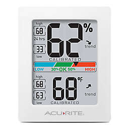 AcuRite®  Pro Accuracy Indoor Temperature & Humidity Monitor in Black
