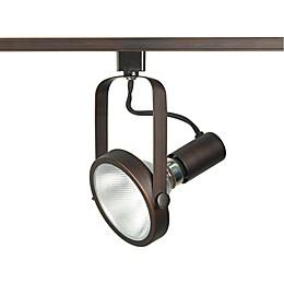 Filament Design Gimbal Ring 1-Light Track Head Light in Russet Bronze
