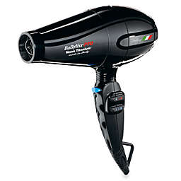 BaByliss® PRO Nano™ Titanium Portofino Dryer in Black