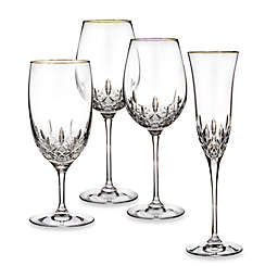 Waterford® Lismore Essence Gold Wine Glass Collection