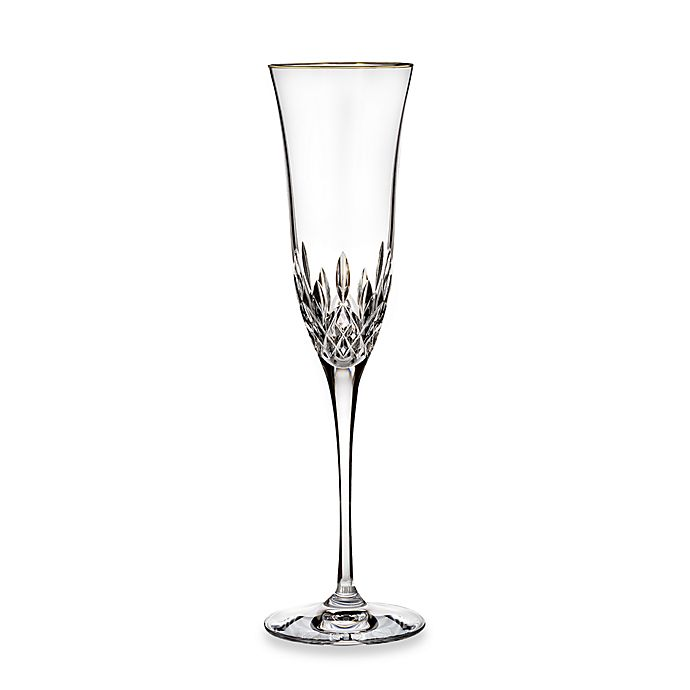 Alternate image 1 for Waterford® Lismore Essence Gold Toasting Flute