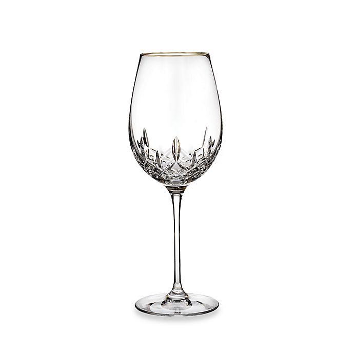 Alternate image 1 for Waterford® Lismore Essence Gold Goblet