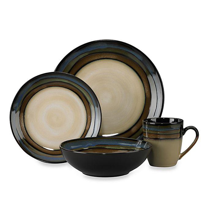 Alternate image 1 for Pfaltzgraff® Galaxy 16-Piece Dinnerware Set