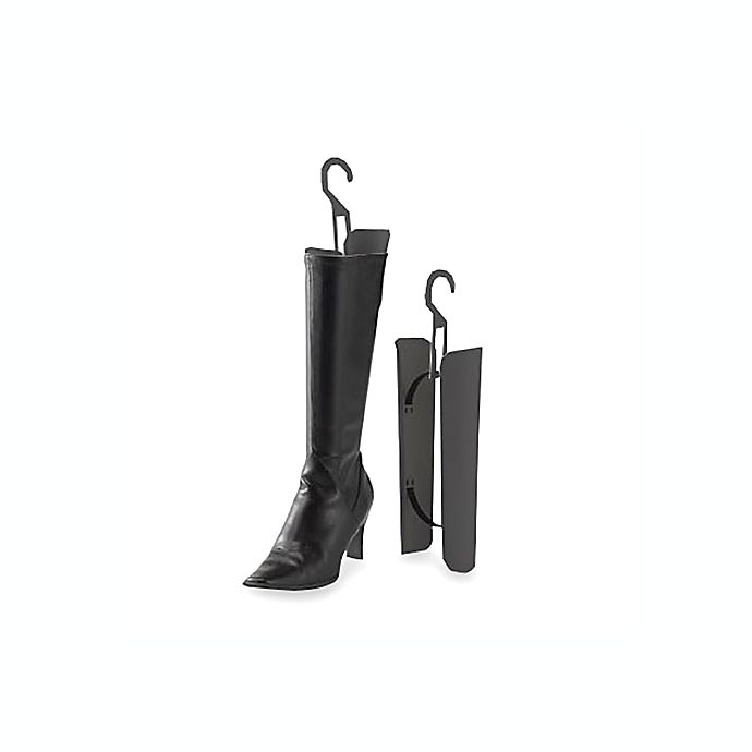 Alternate image 1 for Women's Boot Shapers in Black (Set of 2)