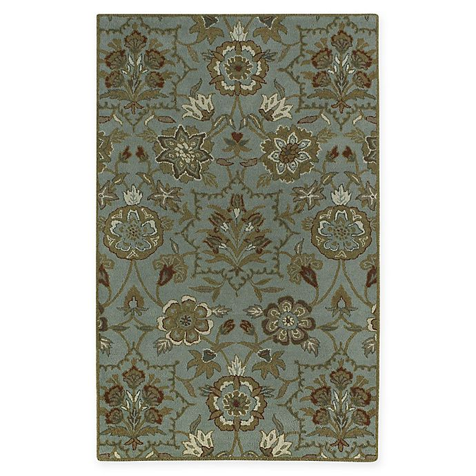 Alternate image 1 for Capel Rugs Garden Terrace 8' x 11' Area Rug in Green