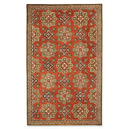 Capel Rugs Biltmore Yates 5' x 8' Hand Tufted Area Rug in Chestnut