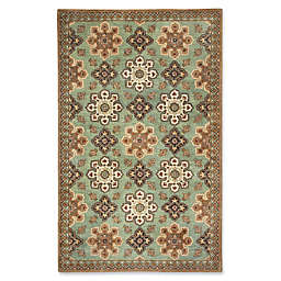 Capel Rugs Biltmore Yates 5' x 8' Hand Tufted Area Rug in Green