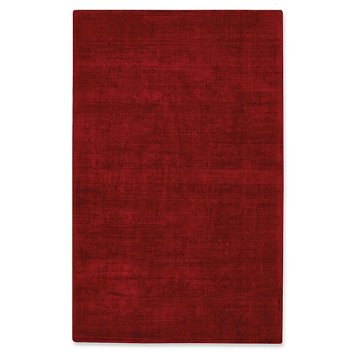 Alternate image 1 for Capel Rugs Iceburg Hand-Tufted 5' x 8' Accent Rug in Crimson