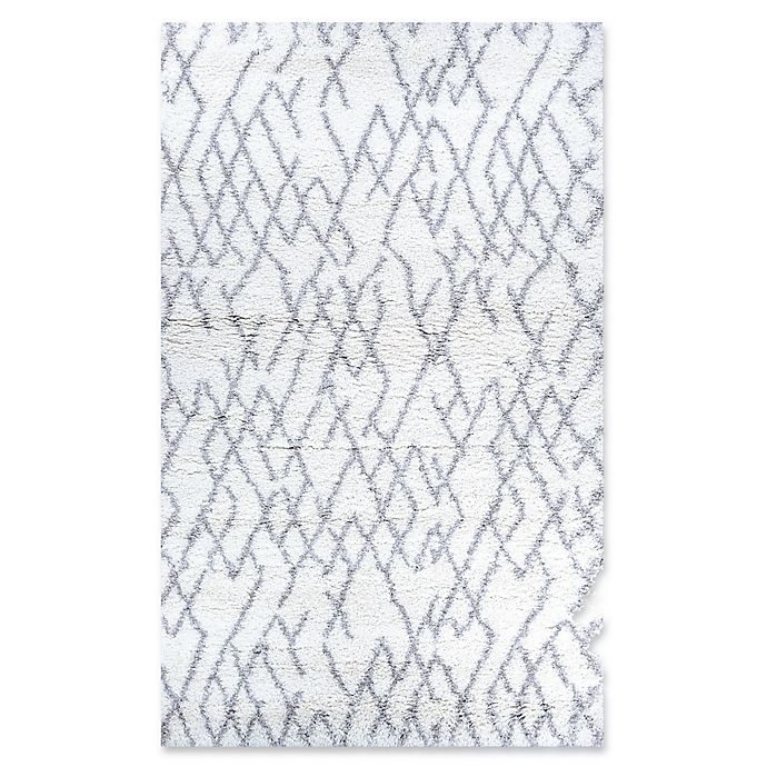Alternate image 1 for Couristan® Fes 9'2 x 12'3 Power-Loomed Area Rug in White/Light Grey