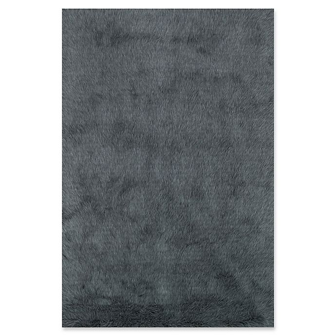Alternate image 1 for Loloi Rugs Danso 3' x 5' Shag Area Rug in Graphite