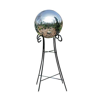 Rome Industries® 24-Inch Pedestal Base for 10-Inch & 12-Inch Gazing Balls in Wrought Iron
