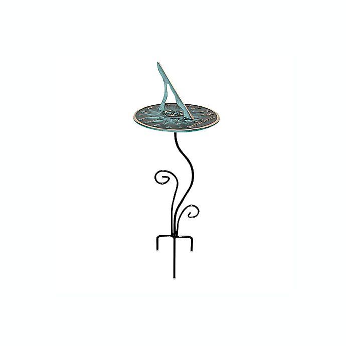 Alternate image 1 for Rome Industries® Flowerbed Sundial Pedestal Base