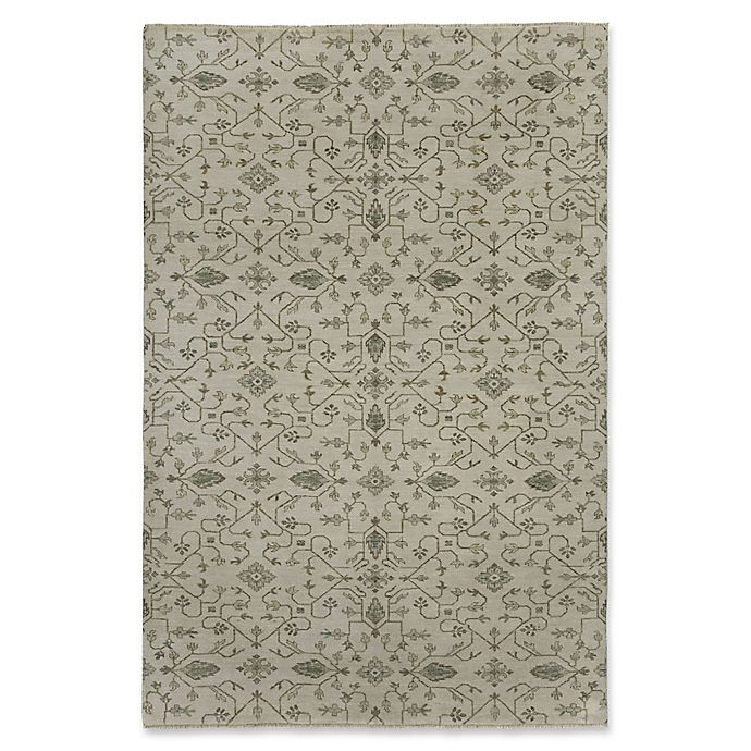 Alternate image 1 for Capel Rugs® Heavenly 9' x 12' Hand Knotted Area Rug in Grey