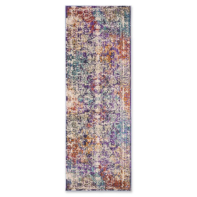 Alternate image 1 for Safavieh Sutton 3' x 8' Ariel Rug in Lavender