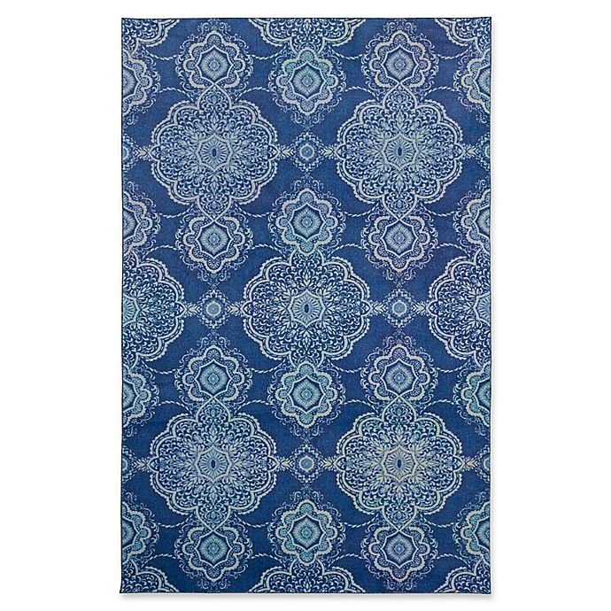 Alternate image 1 for Mohawk Home® Isabella 5' x 8' Area Rug in Blue