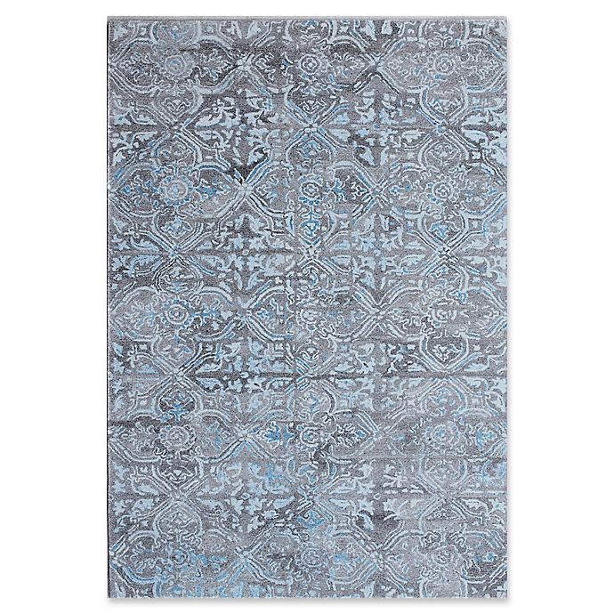 Alternate image 1 for Dynamic Rugs Posh Morocco 2' x 4' Accent Rug in Grey/Blue