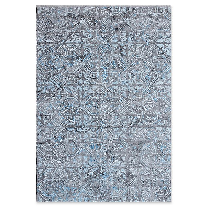 Alternate image 1 for Dynamic Rugs Posh Morocco 4' x 6' Area Rug in Grey/Blue