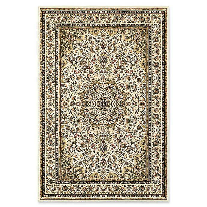 Alternate image 1 for Oriental Weavers Kashan Woven 3'10 x 5'5 Area Rug in Ivory