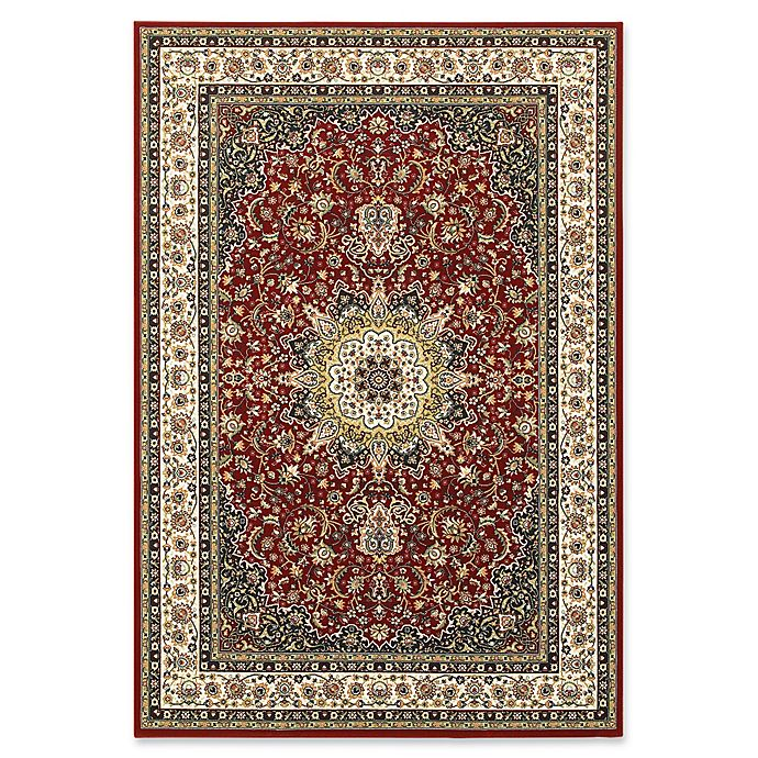 Alternate image 1 for Oriental Weavers Kashan Woven 6'7 x 9'6 Area Rug in Red