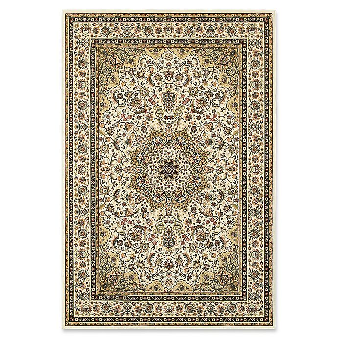 Alternate image 1 for Oriental Weavers Kashan Woven 9'10 x 12'10 Area Rug in Ivory