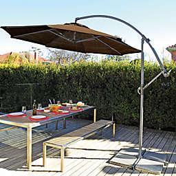 Coolaroo® 10' Cantilever Umbrella in Mocha