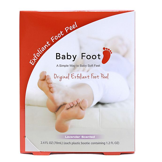 Alternate image 1 for Baby Foot 2.4 oz. Lavender Deep Exfoliation for Feet