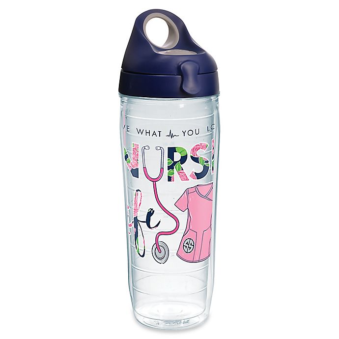 Alternate image 1 for Tervis® Simply Southern Nurse Life 24 oz. Wrap Water Bottle with Lid