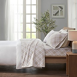 True North by Sleep Philosophy Cozy Flannel Plaid Sheet Set