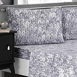 Brielle Knit Print Cotton Jersey Sheet Set