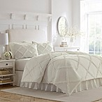 Laura Ashley Adelina King Duvet Cover Set in White