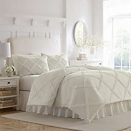 Laura Ashley® Adelina Ruffle Duvet Cover Set