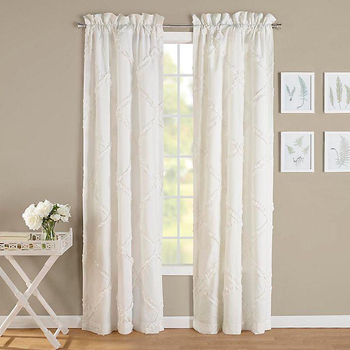 Laura Ashley® Adelina 84-Inch Rod Pocket Window Curtain