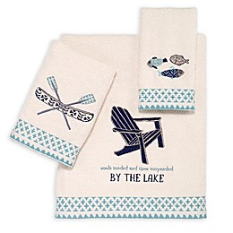 Avanti Lake Life Bath Towel in Ivory