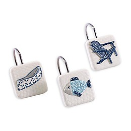 Avanti Lake Life Shower Hooks (Set of 12)