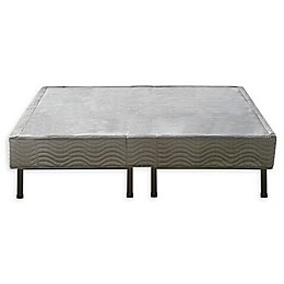 E-Rest Metal Platform Bed Cover in White