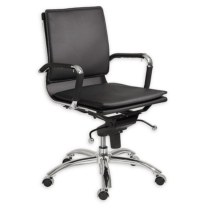 Alternate image 1 for Euro Style® Gunar Office Chair in Black