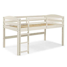 Forest Gate™ Twin Low-Loft Bed in White