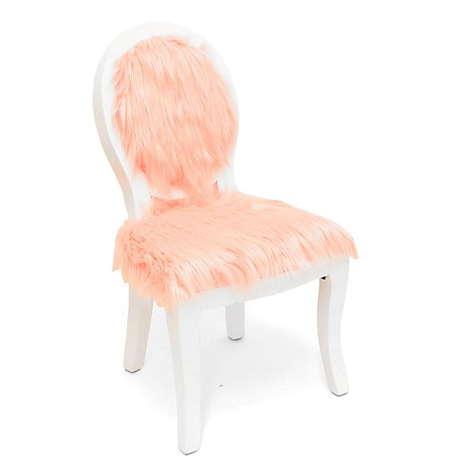 Sensational Hearts Stars Fur Upholstered Dining Chair In Pink Ocoug Best Dining Table And Chair Ideas Images Ocougorg
