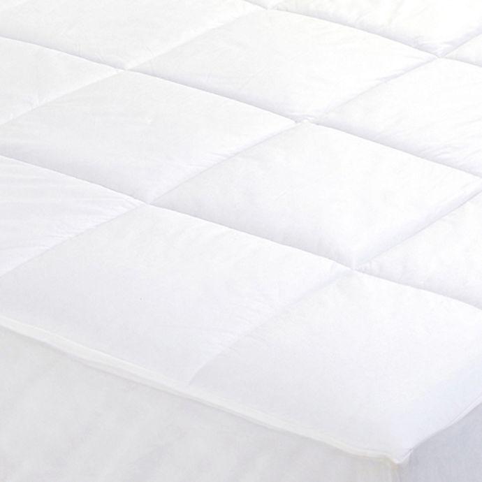 Alternate image 1 for Everfresh Antibacterial Water-Resistant Mattress Pad